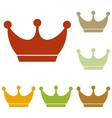 King crown sign vector image vector image
