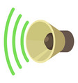 sound on icon cartoon style vector image