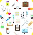 Medicine pattern stickers vector image
