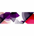 Abstract background - multicolored circles trendy