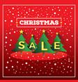 christmas sale christmas sale design chri vector image
