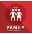 family label design vector image