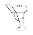 figure barcode reader technology with laser scan vector image