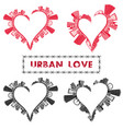 urban love 0001 vector image