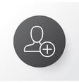add icon symbol premium quality isolated insert vector image vector image