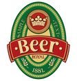 Beer label design vector | Price: 3 Credits (USD $3)