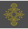 Decorative Line Art Frame Geometric Design vector image vector image