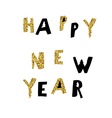 Happy New Year Postcard Holiday concept postcard vector image vector image