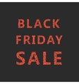 lettering sketch black friday sale vector image