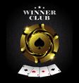 poker3 vector image
