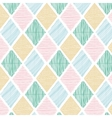 Seamless Geometric Color Tile Pattern vector image vector image
