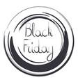 big sale sticker black friday special offer sale vector image