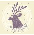 deer fabulous vector image