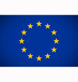 Flag of European Union vector image