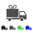 gift delivery icon vector image vector image