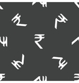 Indian rupee pattern vector image vector image