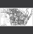 juba south sudan city map in retro style outline vector image vector image