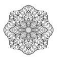 mandala03 vector image vector image
