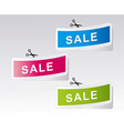 retail labels vector image