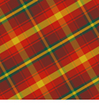 seamless pattern Maple Leaf Canadian tartan vector image vector image