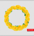 wreath dandelions isolated transparent background vector image
