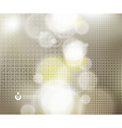 Abstract Background with Sunlight Glow vector image vector image