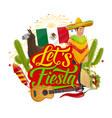 cinco de mayo sombrero mexican fiesta fireworks vector image vector image