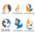 oil and gas industry i vector image vector image