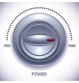 Power knob with calibration vector image