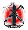 Welding with tool symbol