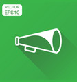 megaphone icon business concept bullhorn symbol vector image