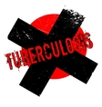 Tuberculosis rubber stamp vector image