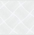 abstract white and gray seamless pattern of lines vector image vector image