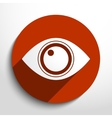 eye web icon vector image