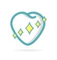 Healthy teeth logo design element vector image