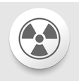 Nuclear Symbol Icon vector image vector image