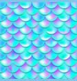 pearl purple and blue mermaid scales seamless vector image