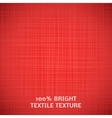 Red fabric texture for your elegant design vector image vector image
