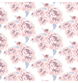 Roses flowers texture pattern vector image vector image