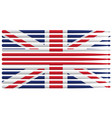 united kingdom drummer drum stick flag vector image