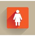 Woman figure vector image