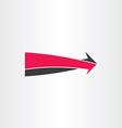 3d arrow go forward icon