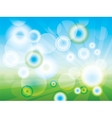Abstract Clean Green background vector image
