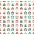 Animal seamless pattern of kennel vector image vector image
