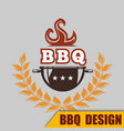 bbq barbecue grill image vector image vector image
