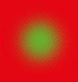 color halftone gradient circle vector image vector image