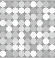 grey and white dots background or comic pattern vector image