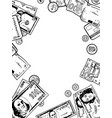 money engraving vector image
