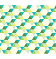 seamless pattern of triangles vector image vector image