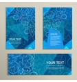 template brochure and banner with abstract vector image vector image